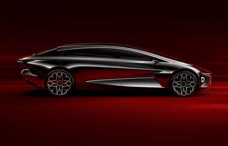 Lagonda Vision Concept : la voiture électrique de luxe selon Aston Martin