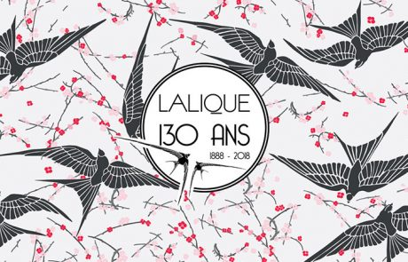 Lalique fête ses 130 ans en 2018 !