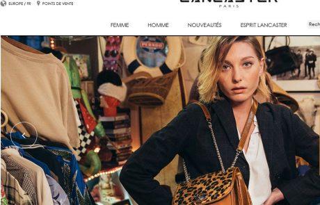 Lancaster développe son activité e-commerce