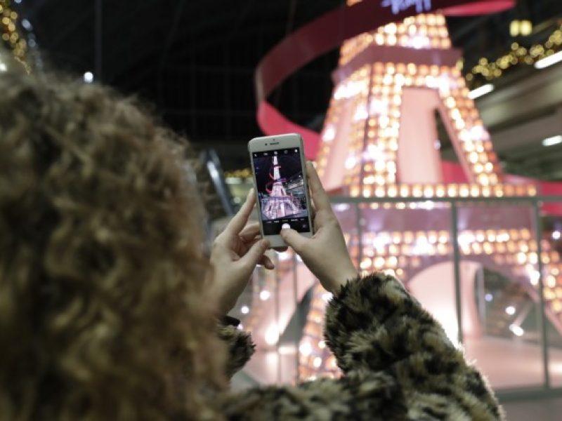 Lancôme s'installe à St Pancras pour les Noël 2019