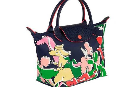 Longchamp collabore avec l'illustratrice Clo'e Floirat