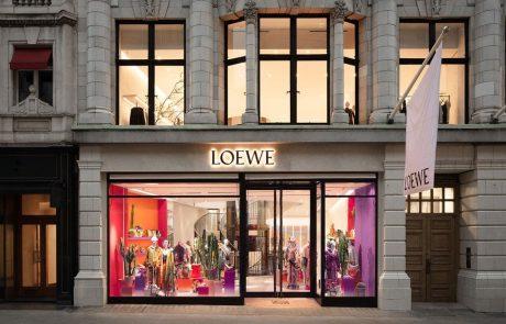 Loewe ouvre son nouveau magasin londonien