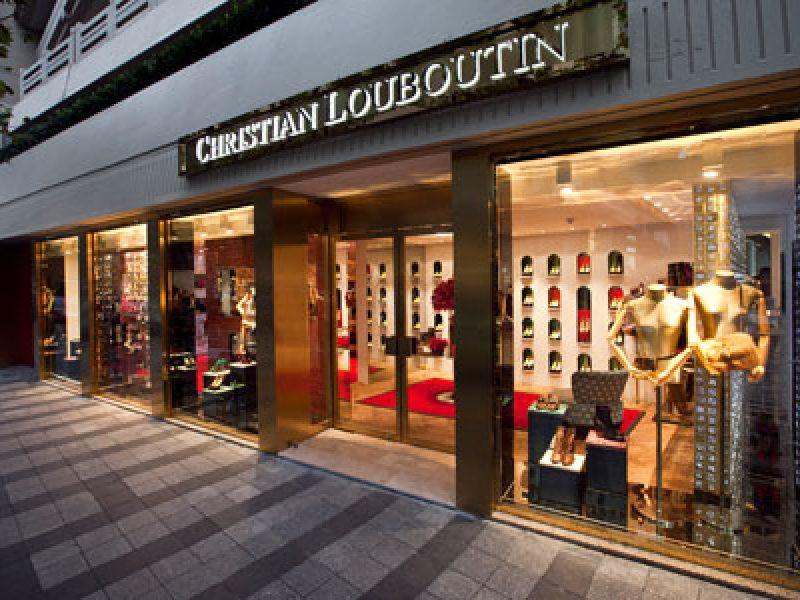 plus de photos 95d03 4e77e Christian Louboutin propose des chaussures pour bébé