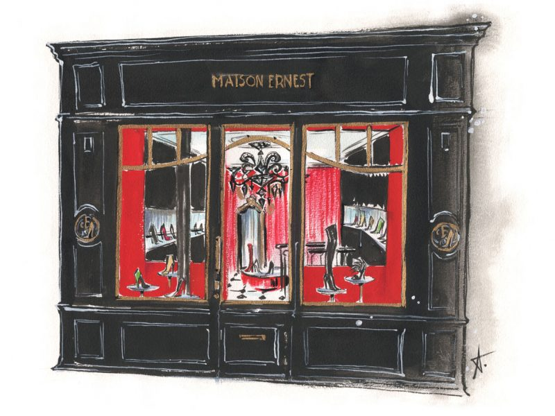 Maison Ernest ouvre une nouvelle boutique à Paris