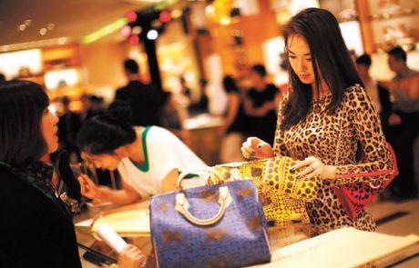 Forte progression du marché du luxe en Chine