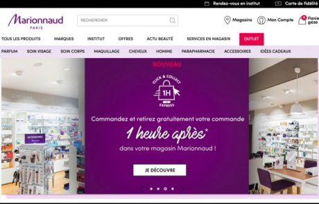 Marionnaud propose un service express de retrait en magasin
