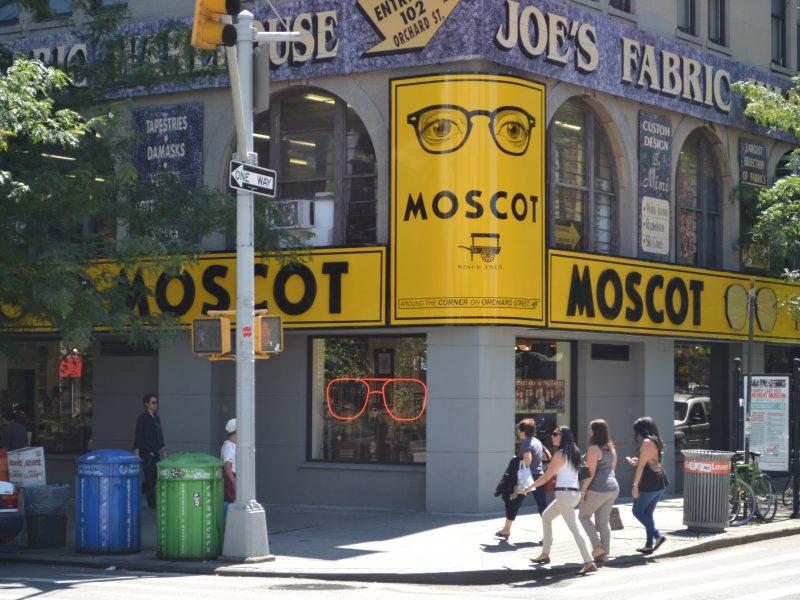 Moscot ouvre sa 1e boutique à Paris