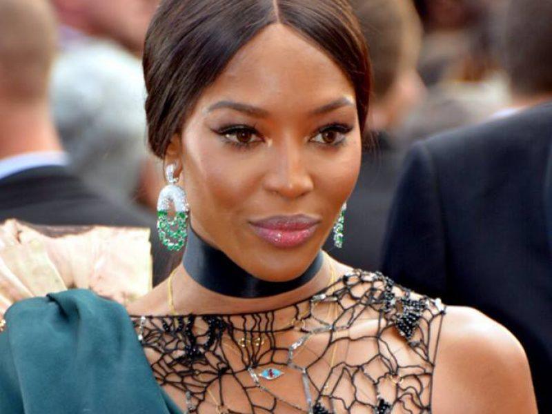 Naomi Campbell devient pour la première fois égérie cosmétique