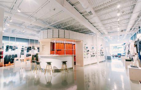 Nike by Melrose : le concept store digital inauguré à Los Angeles