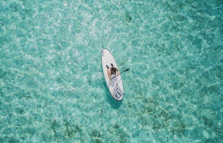Loeva innove avec son paddle de luxe transparent et éclairé