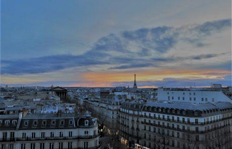 Au Top : un restaurant de luxe sur les toits de Paris