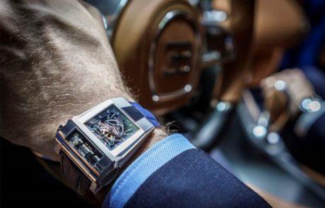 Parmigiani sort sa montre Bugatti Chiron Sport