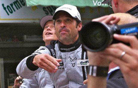 Patrick Dempsey, pilote et égérie pour Porsche