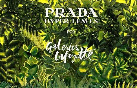 Hyper Leaves : Prada s'installe au Printemps Haussmann