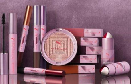 Puma signe une collection cosmétique avec Maybelline