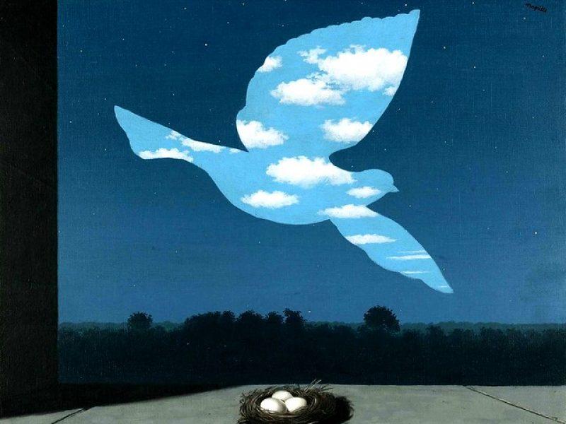 Delvaux invite Magritte dans son pop-up store parisien