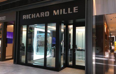 L'horloger Richard Mille ouvre une boutique géante à New York