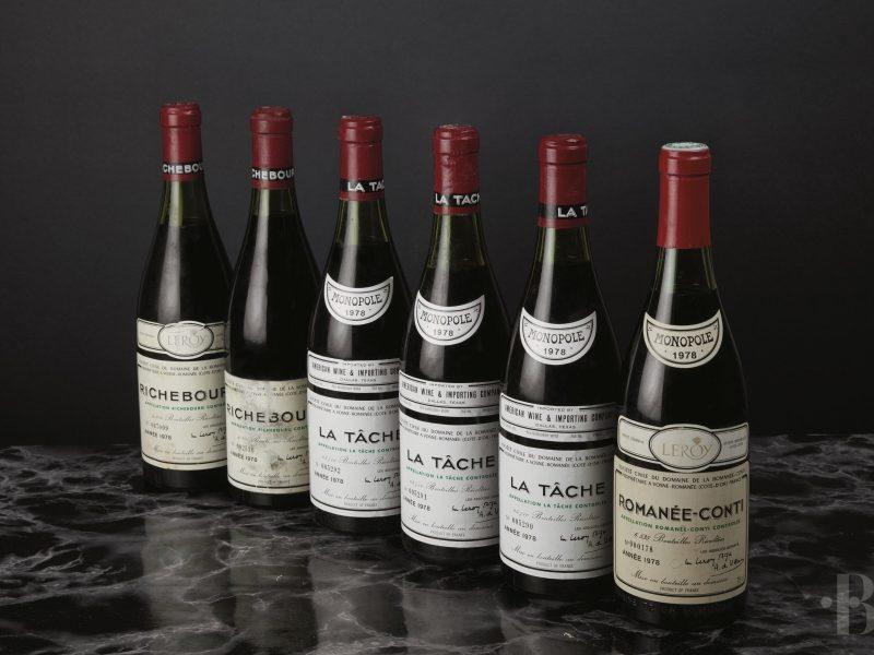 Baghera Wines : 1e vente aux enchères exclusive de Romanée-Conti