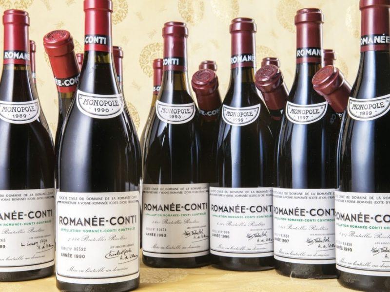 Romanée-Conti : la bouteille la plus chère au monde