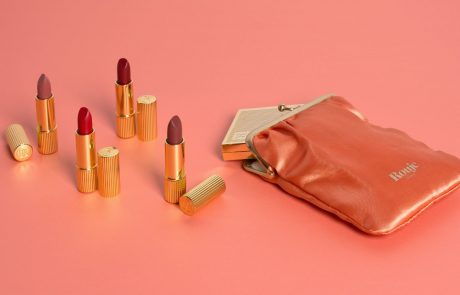 Première collection de cosmétiques pour Rouje
