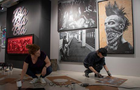 Le Royal Monceau accueille l'exposition Art Attack