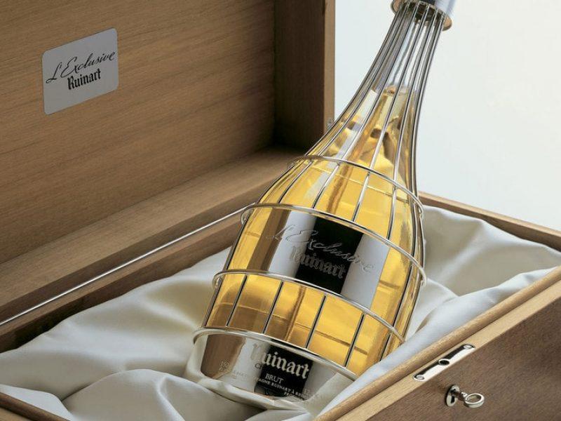 Ruinart signe un pop-up store dédié au champagne
