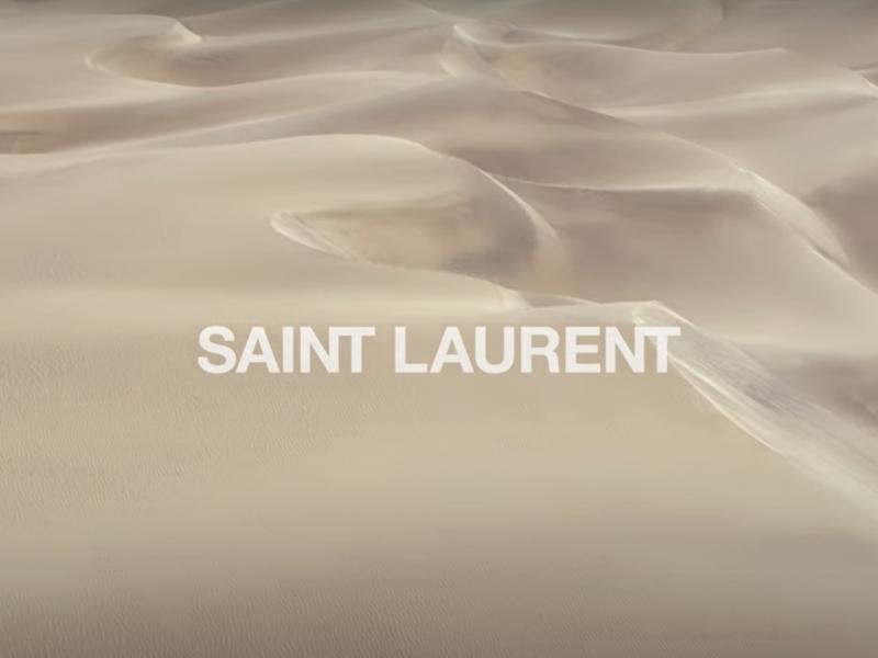 La dernière vidéo de Saint Laurent devient virale