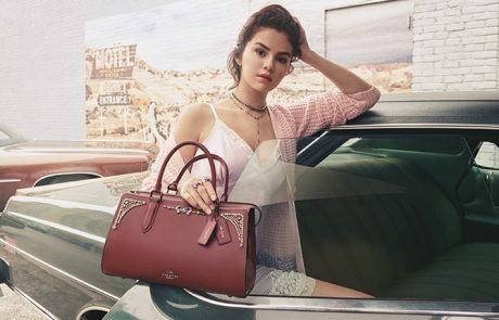 Selena Gomez : une nouvelle ligne de maroquinerie avec Coach