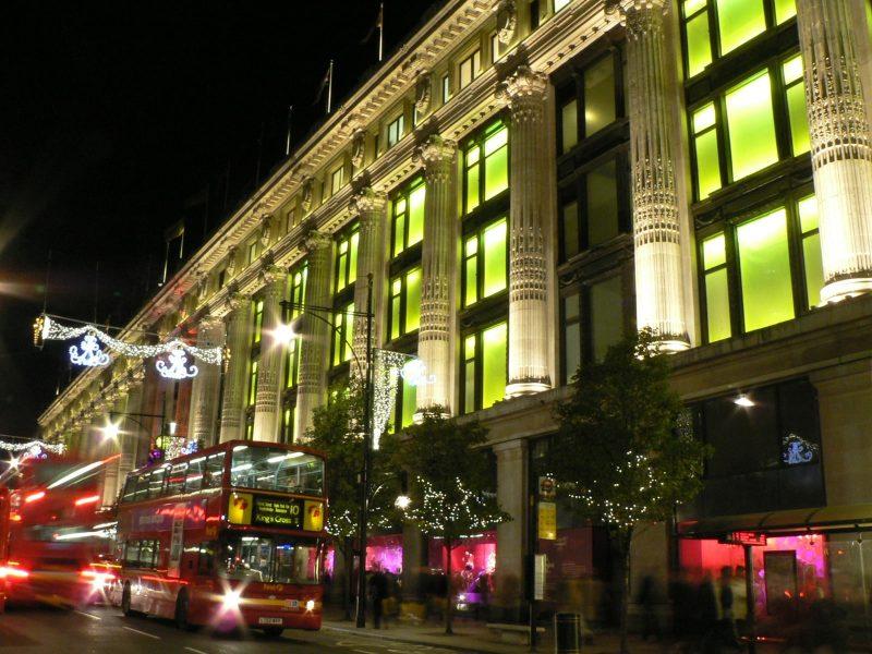 Selfridges bat des records pour ses ventes de Noël
