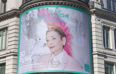Le mouvement Punk s'invite au Bon Marché