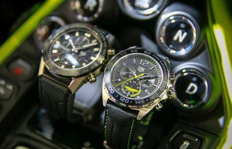 TAG Heuer et Aston Martin collaborent pour 2 montres