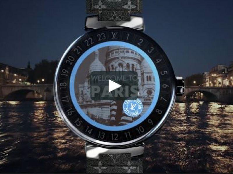 La montre Tambour Horizon de Vuitton toujours plus connectée