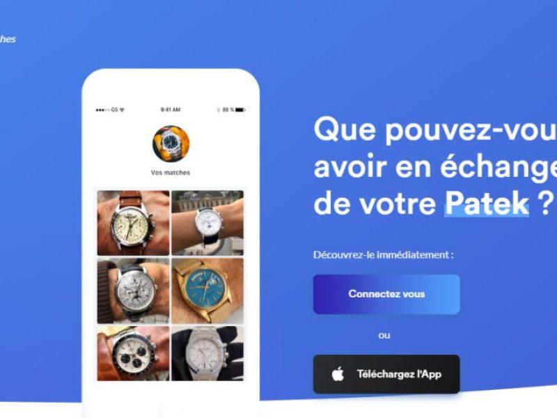 Tradee Watch : l'appli de vente dédiée aux montres de luxe