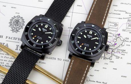 Trieste présente Deep Sea, sa nouvelle montre de plongée