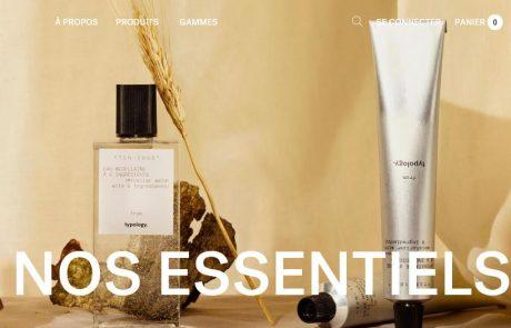 La marque de cosmétiques Typology s'installe en France