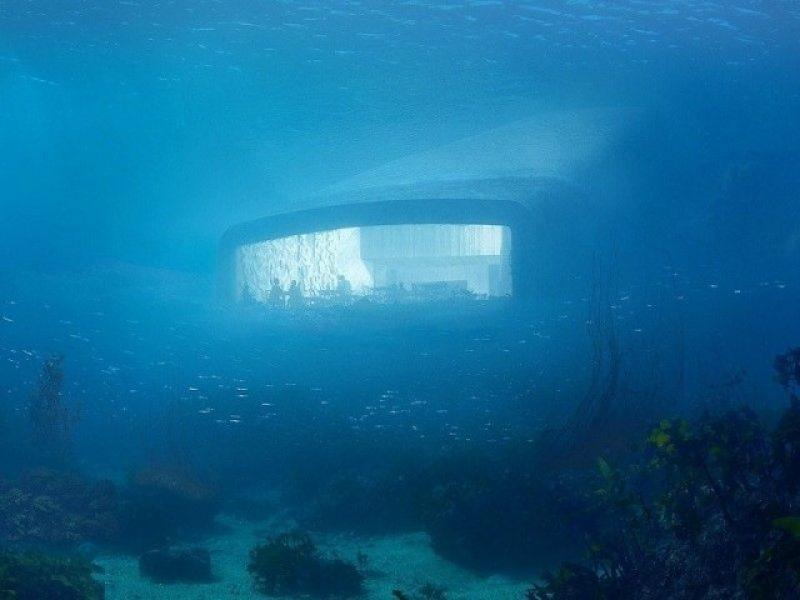 Under : le 1e restaurant européen sous-marin
