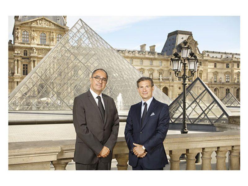 Vacheron Constantin, partenaire du Louvre