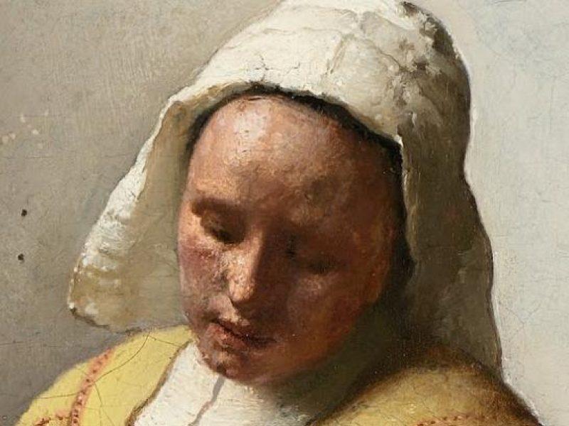 La Laitière de Vermeer voyage en malle Vuitton