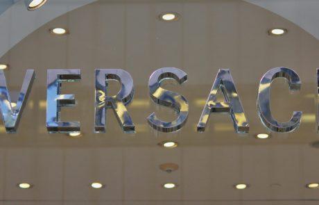 De nouveaux magasins Versace à Paris et Londres