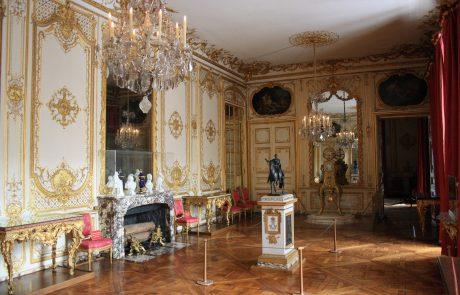 Rolex mécène du cabinet royal, à Versailles