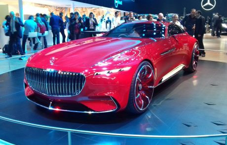 Vision Mercedes-Maybach Ultimate Luxury : le nouveau SUV électrique
