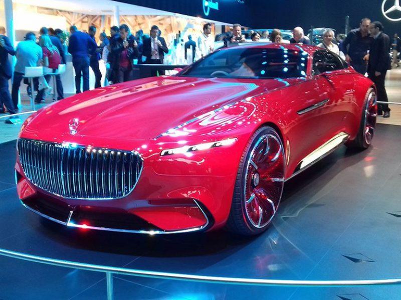 Vision Mercedes-Maybach Ultimate Luxury : le nouveau SUV électrique