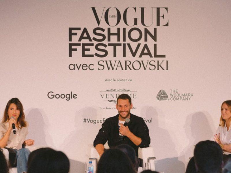 Edition 2018 du Vogue Fashion Festival à Paris