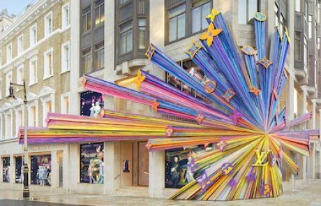 La boutique londonienne de Vuitton rouvre ses portes