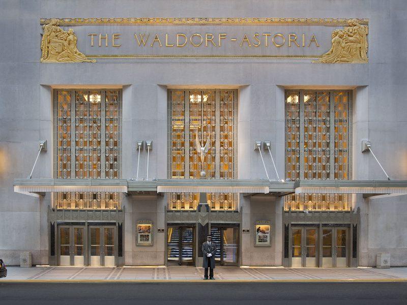 Série «Palaces de légende»: le Waldorf Astoria, l'âme de New York