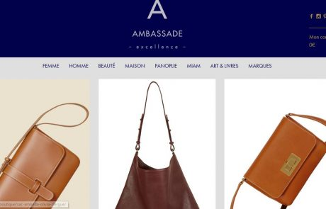Ambassade Excellence : le site e-commerce dédié à l'artisanat de luxe