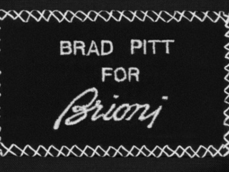 Brad Pitt en vedette pour Brioni