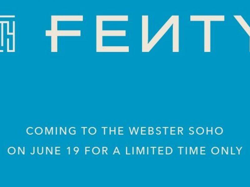 Rihanna: un pop-up newyorkais pour Fenty!