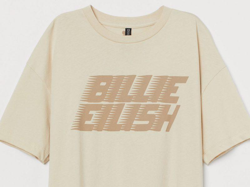 Une collection de merchandising durable pour Billie Eilish chez H&M