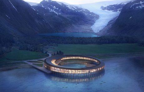Un hôtel écologique en plein cercle polaire